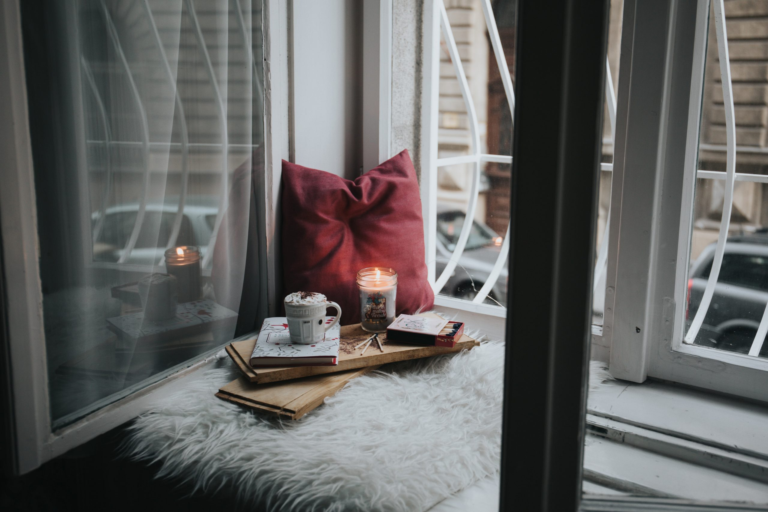 cozy spot for writing